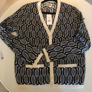Authentic Tory Burch Merino Cardigan! New w/tags!